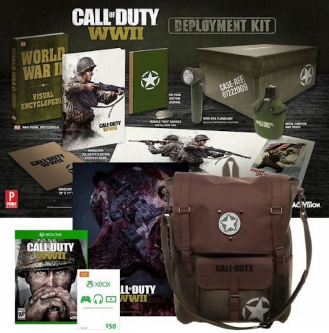 Call of Duty WWII Especial Xbox One