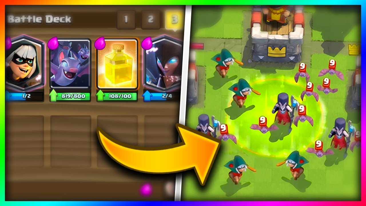 Clash Royale carta murciélagos