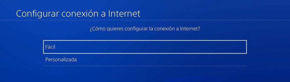 Configuración de PS4