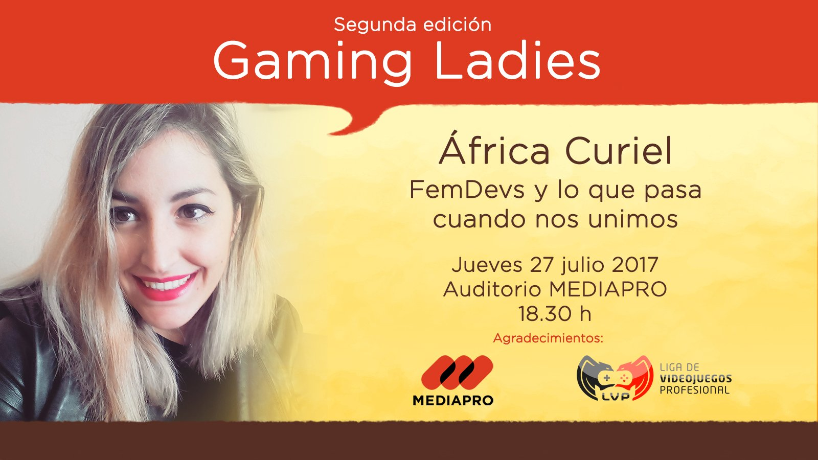 Conferencia Gaming Ladies