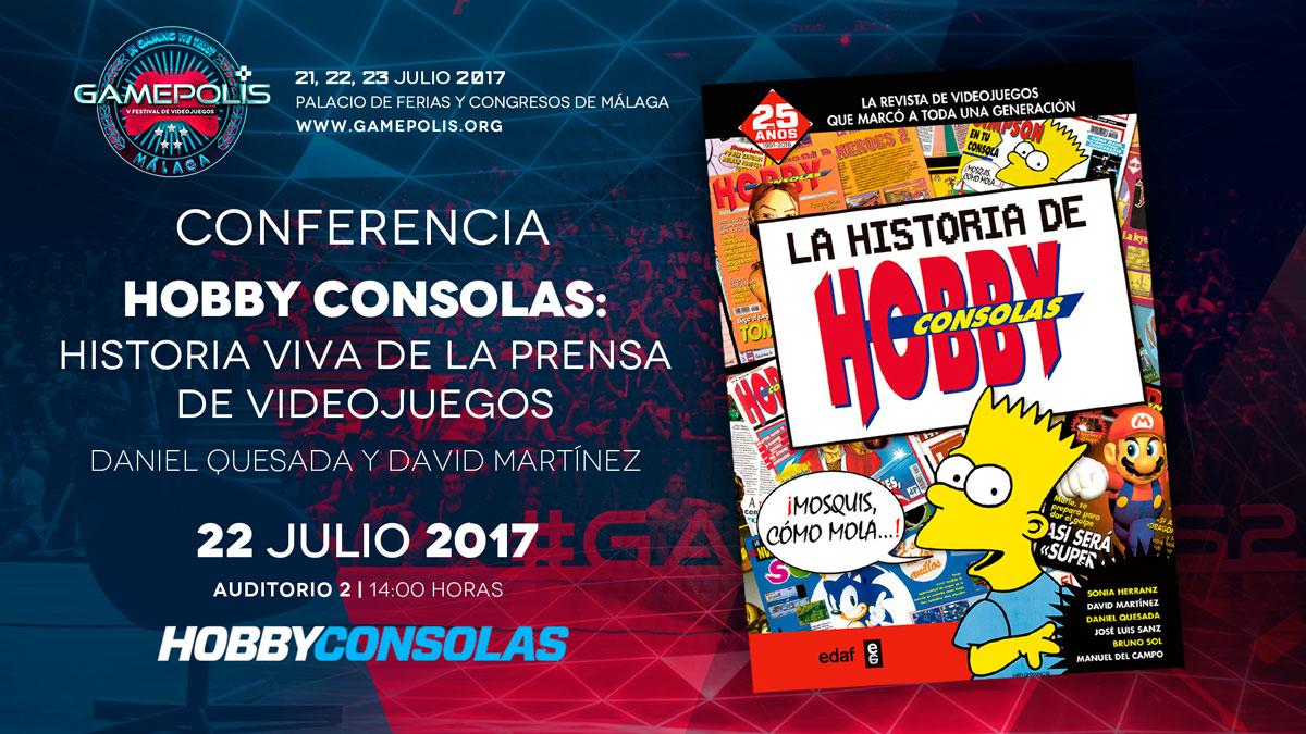Conferencia HC Gamepolis
