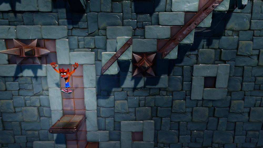 Crash Bandicoot N. Sane Trilogy Stormy Ascent