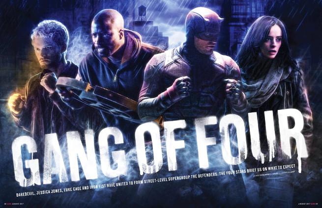 The Defenders - serie de Marvel en Netflix