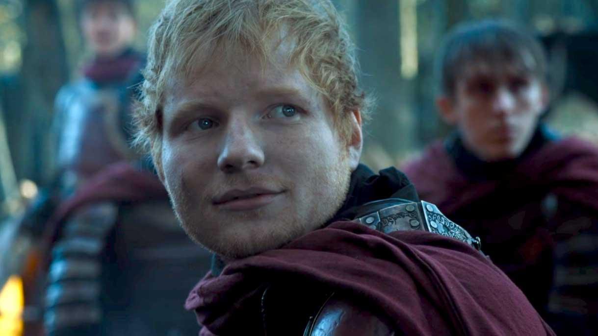 Ed Sheeran en Juego de Tronos