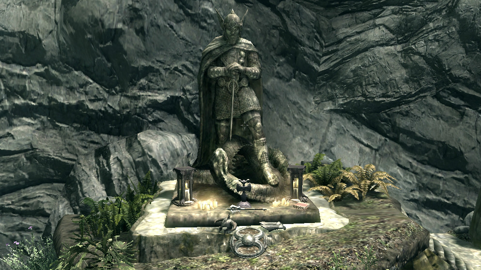 Altar de The Elder Scrolls V Skyrim