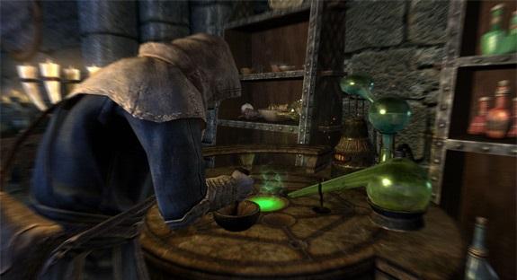 Pociones de The Elder Scrolls V Skyrim