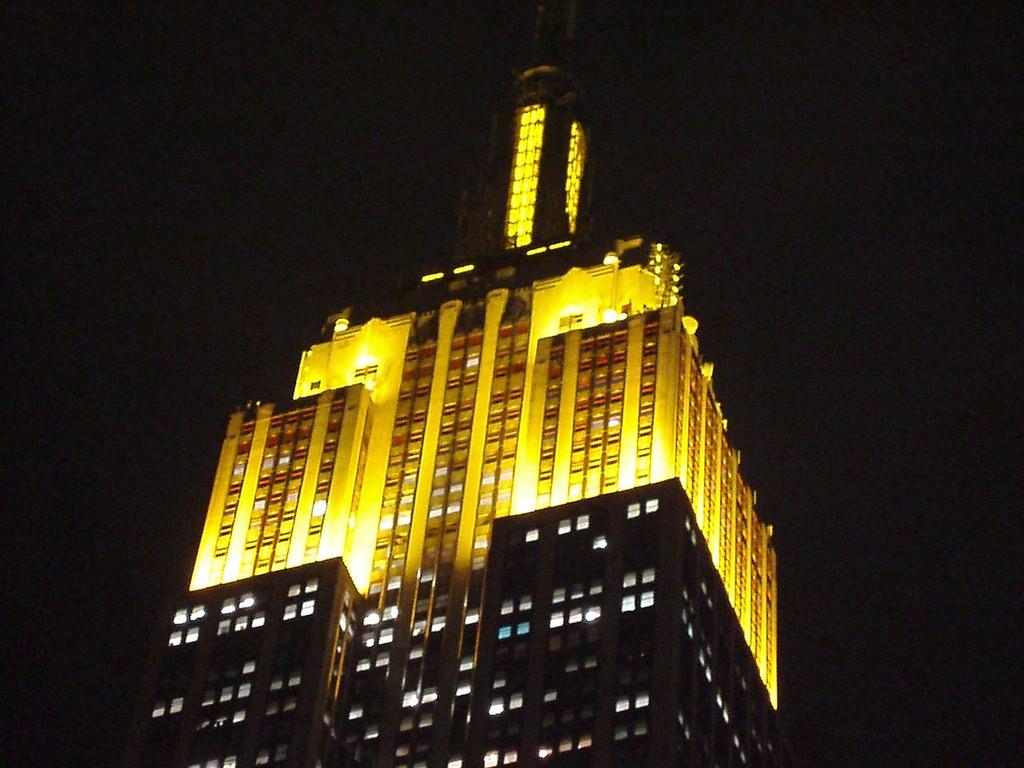El Empire State promociona Los Simpson la película