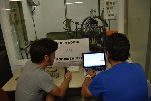 Los estudiantes de UEM se preparan para Formula Student