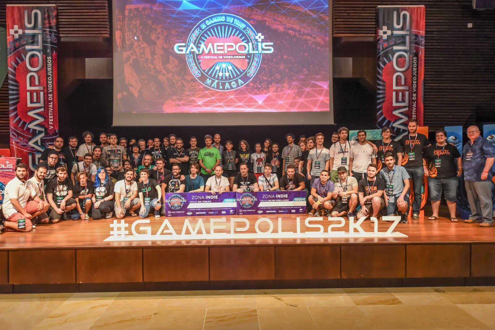 Gamepolis 2017 Zona Indie