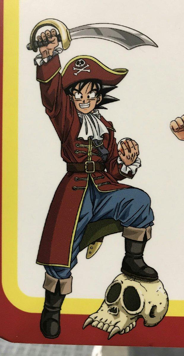 Goku pirata
