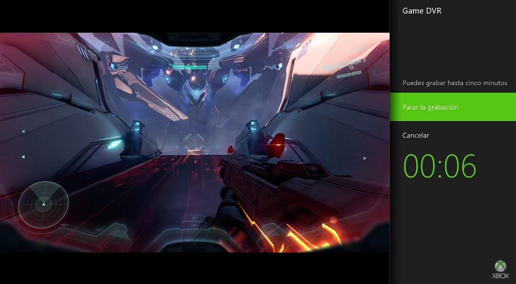 Grabación en Xbox One