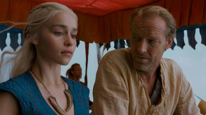 HBO desvela el contenido de la carta de Ser Jorah a Khaleesi en Juego de Tronos