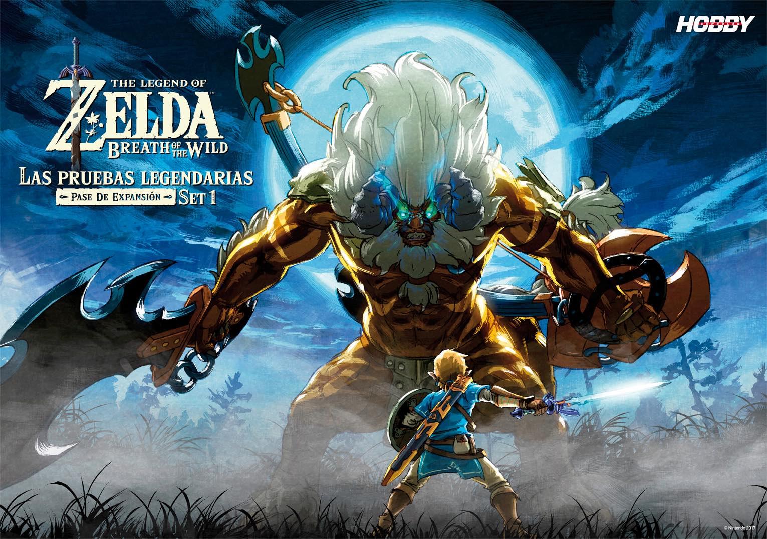 Hobby_Consolas_313_Poster Zelda Breath of the Wild Expansión 1