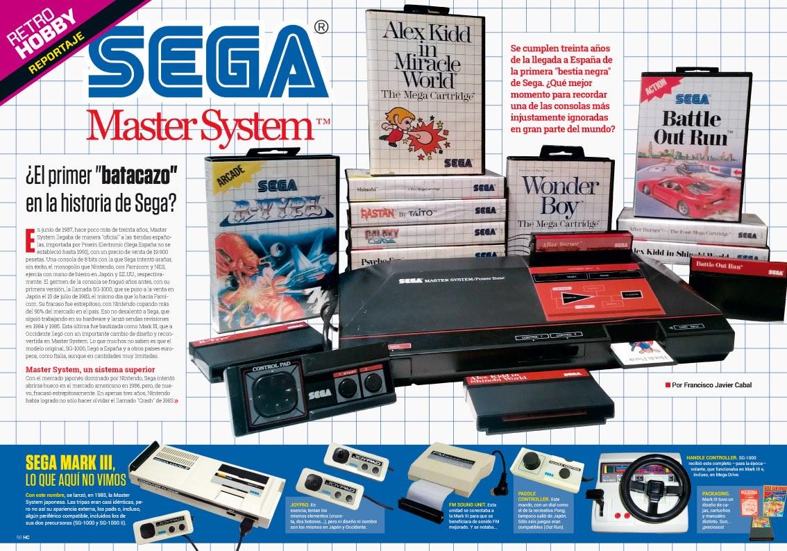 Hobby_Consolas_313_Reportaje 30 años de Master System