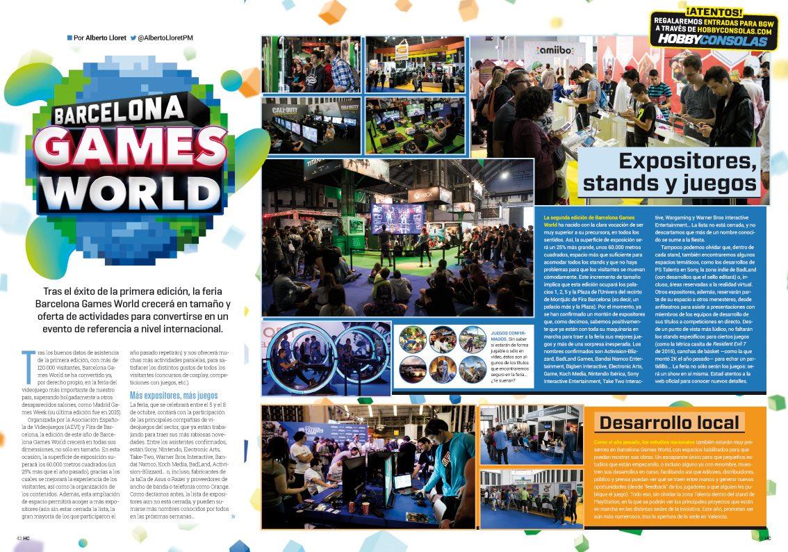 Hobby_Consolas_313_Reportaje Barcelona Games World