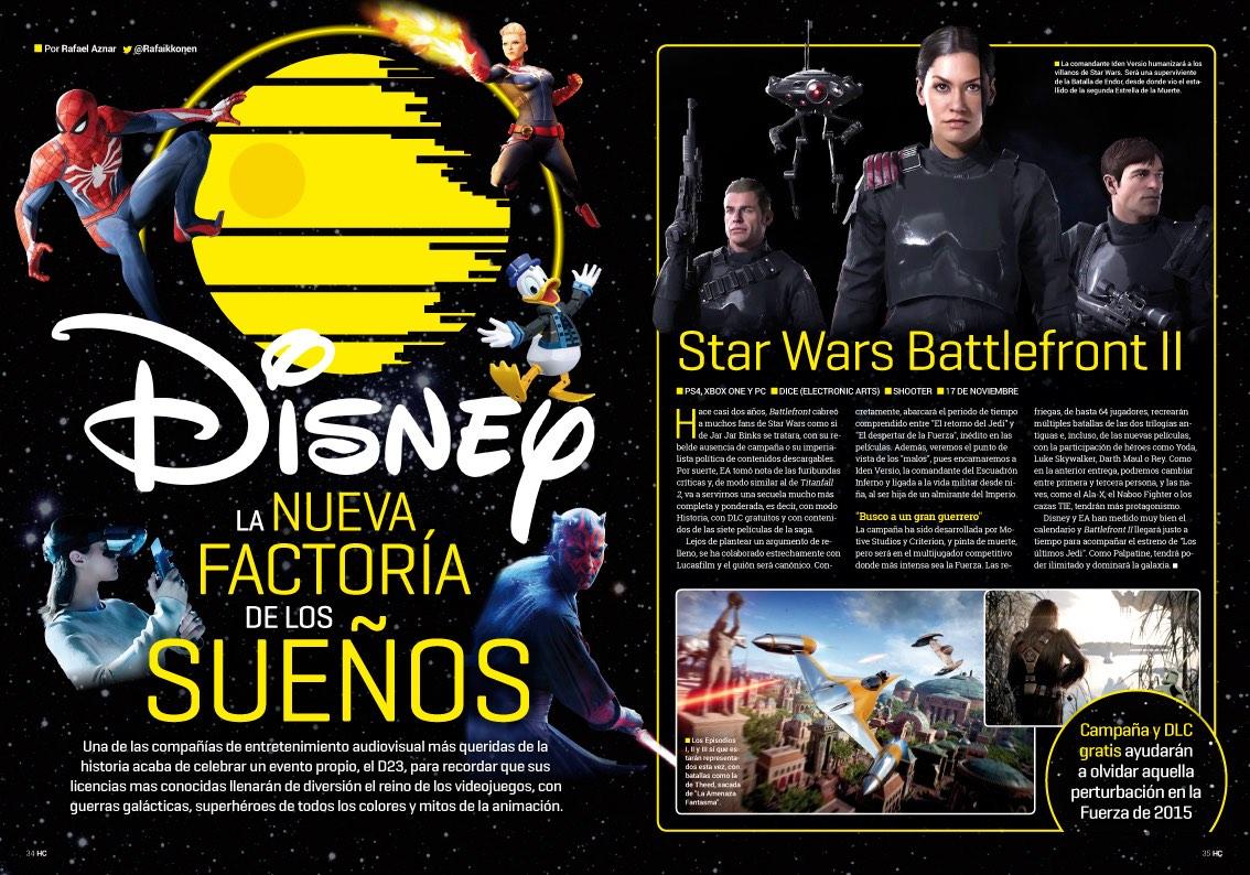 Hobby_Consolas_313_Reportaje Disney, la nueva factoría de los sueños