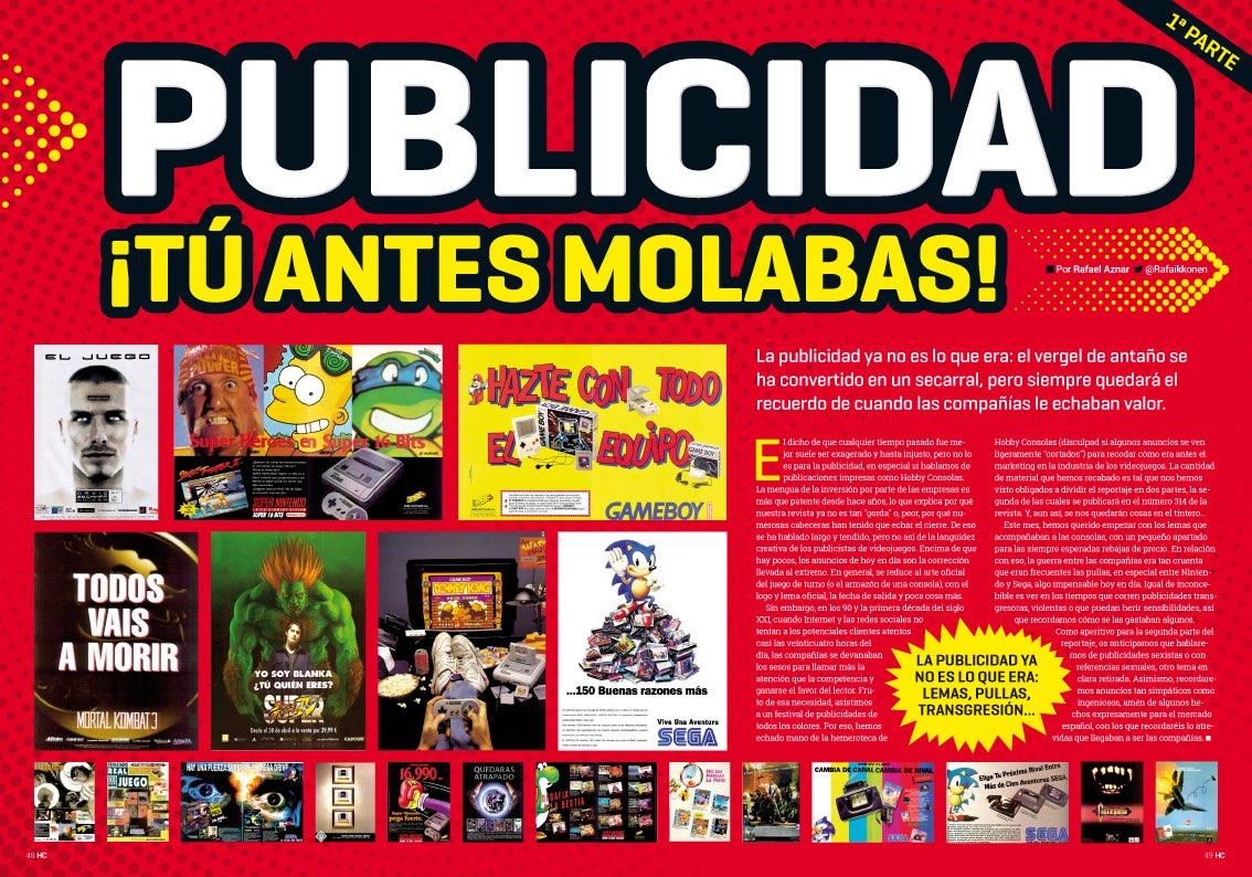 Hobby_Consolas_313_Reportaje Publicidad tú antes molabas parte 1