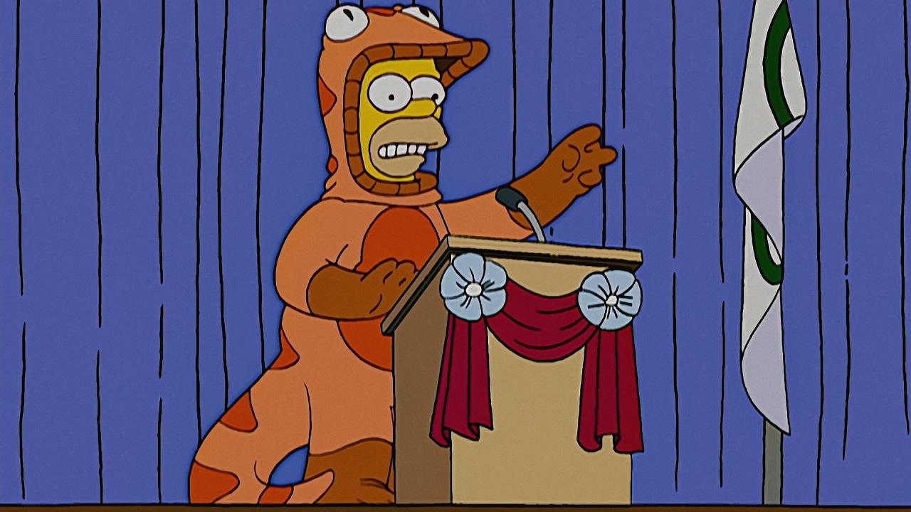 Homer Simpson Salamander
