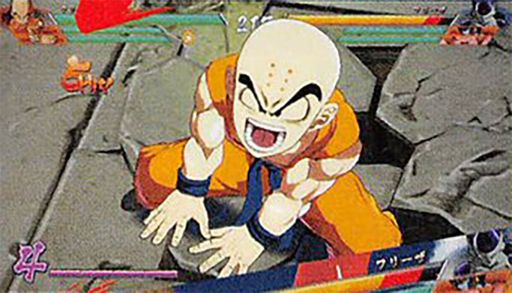 Krillin en Dragon Ball FighterZ