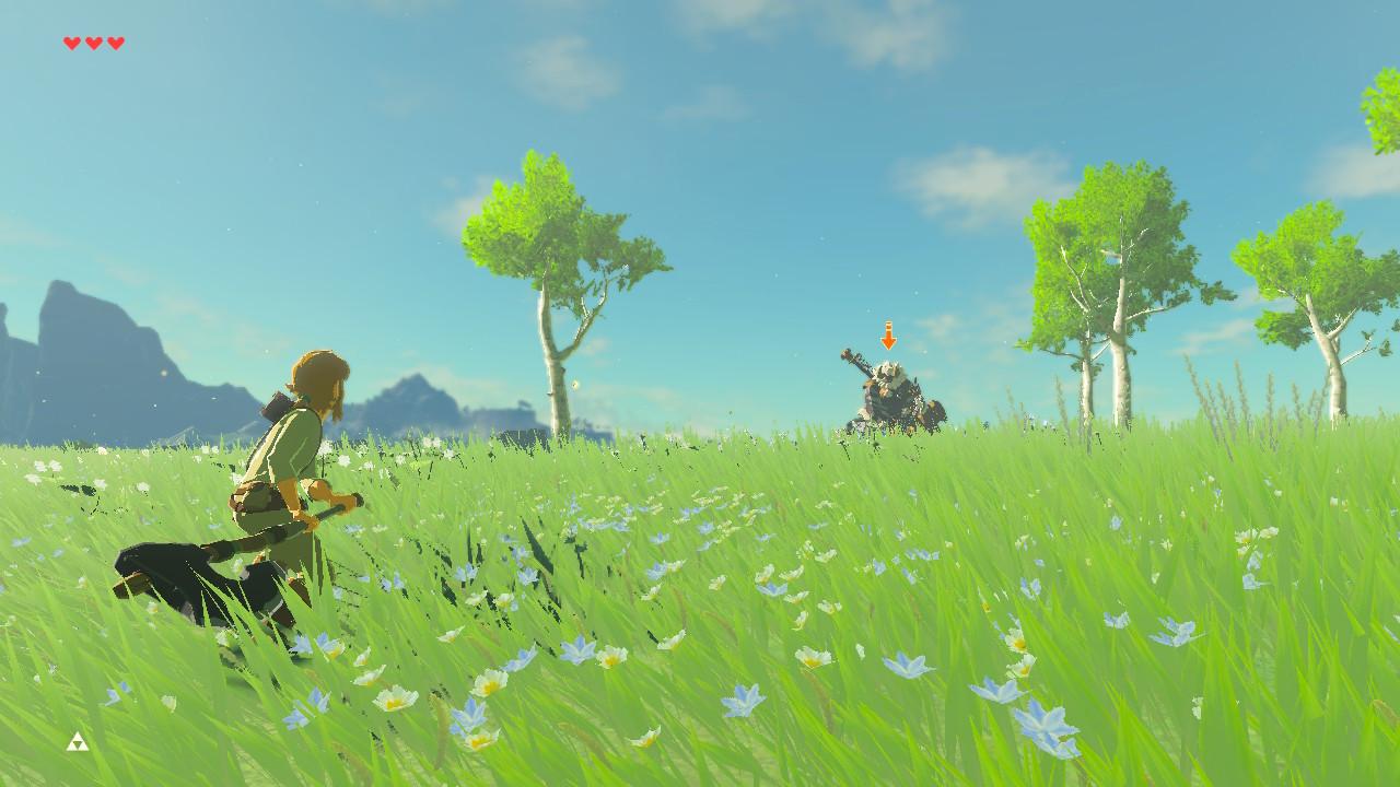 Zelda Breath of the Wild modo difícil