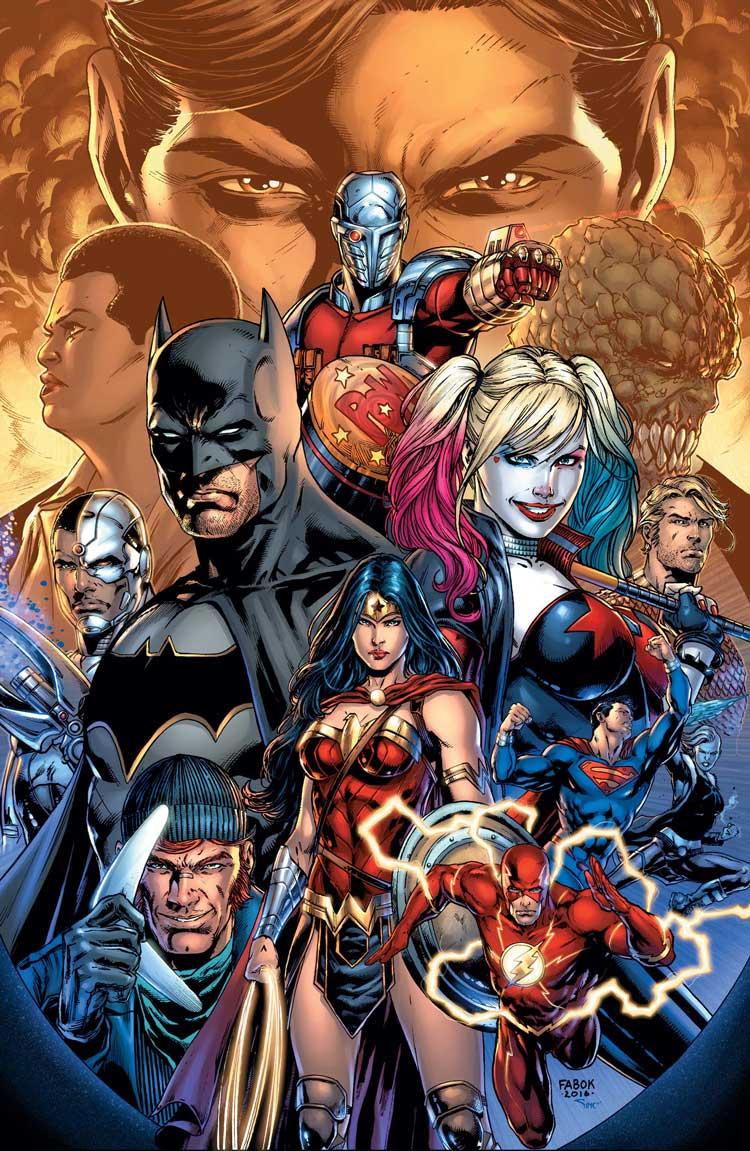 Liga de la Justicia contra Escuadrón Suicida - Review del crossover