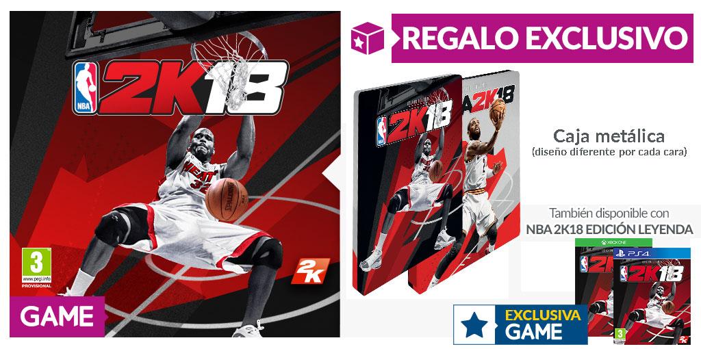 NBA 2K18 - Regalo exclusivo en GAME