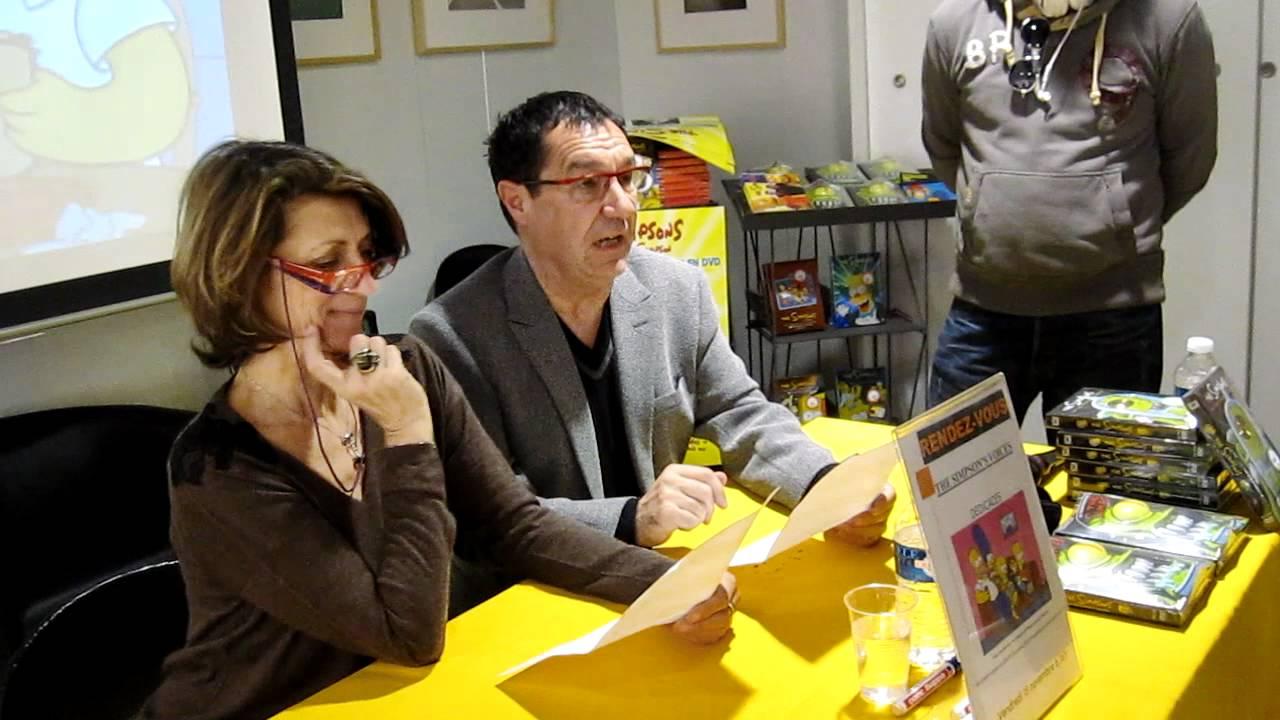 Philippe Peythieu y Veronique Augereau