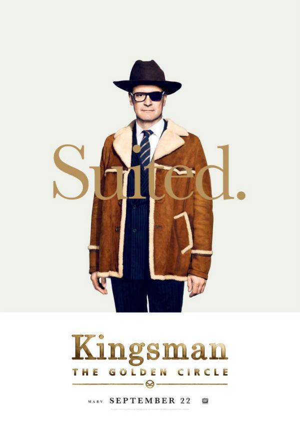 Colin Firth en Kingsman: El círculo de oro