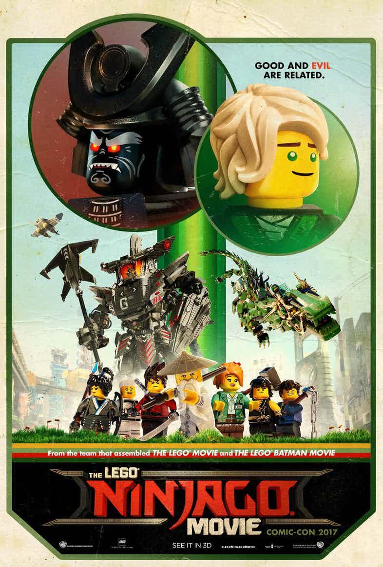 La Lego Ninjago película estrena tráiler y póster en la ...