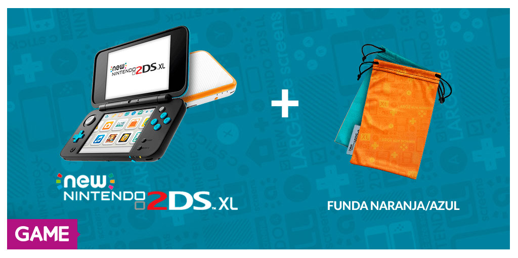 Regalo de reserva de New Nintendo 2DS XL en GAME