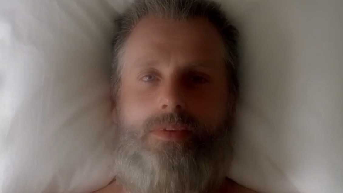 Rick en la temporada 8 de The Walking Dead