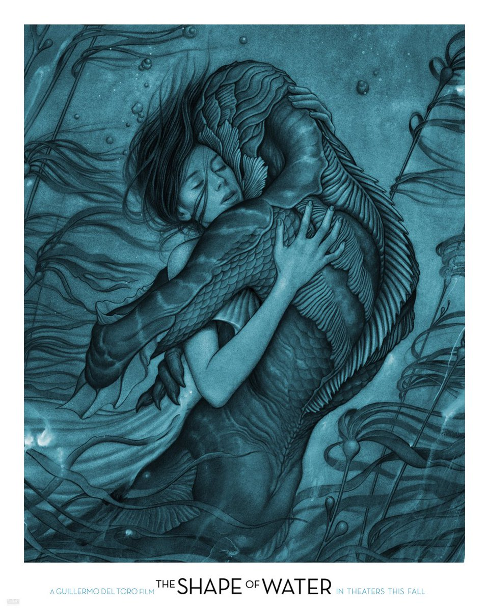 The Shape of Water póster