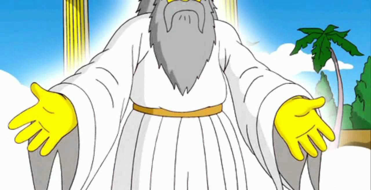 Dios en Los Simpson