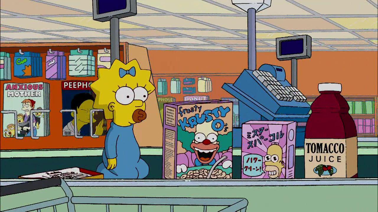 cash register Simpsons