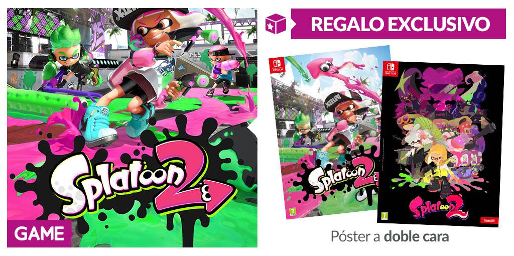 Splatoon 2 - Regalo de reserva en GAME