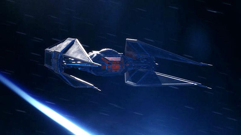 TIE Silencer, la nave de Kylo Ren en Star Wars
