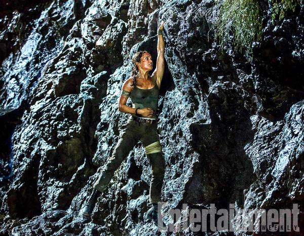 Tomb Raider - Nueva imagen con Alicia Vikander en plena acción