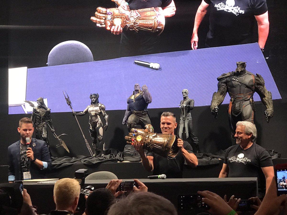 Vengadores: Infinity War - El reparto en la D23