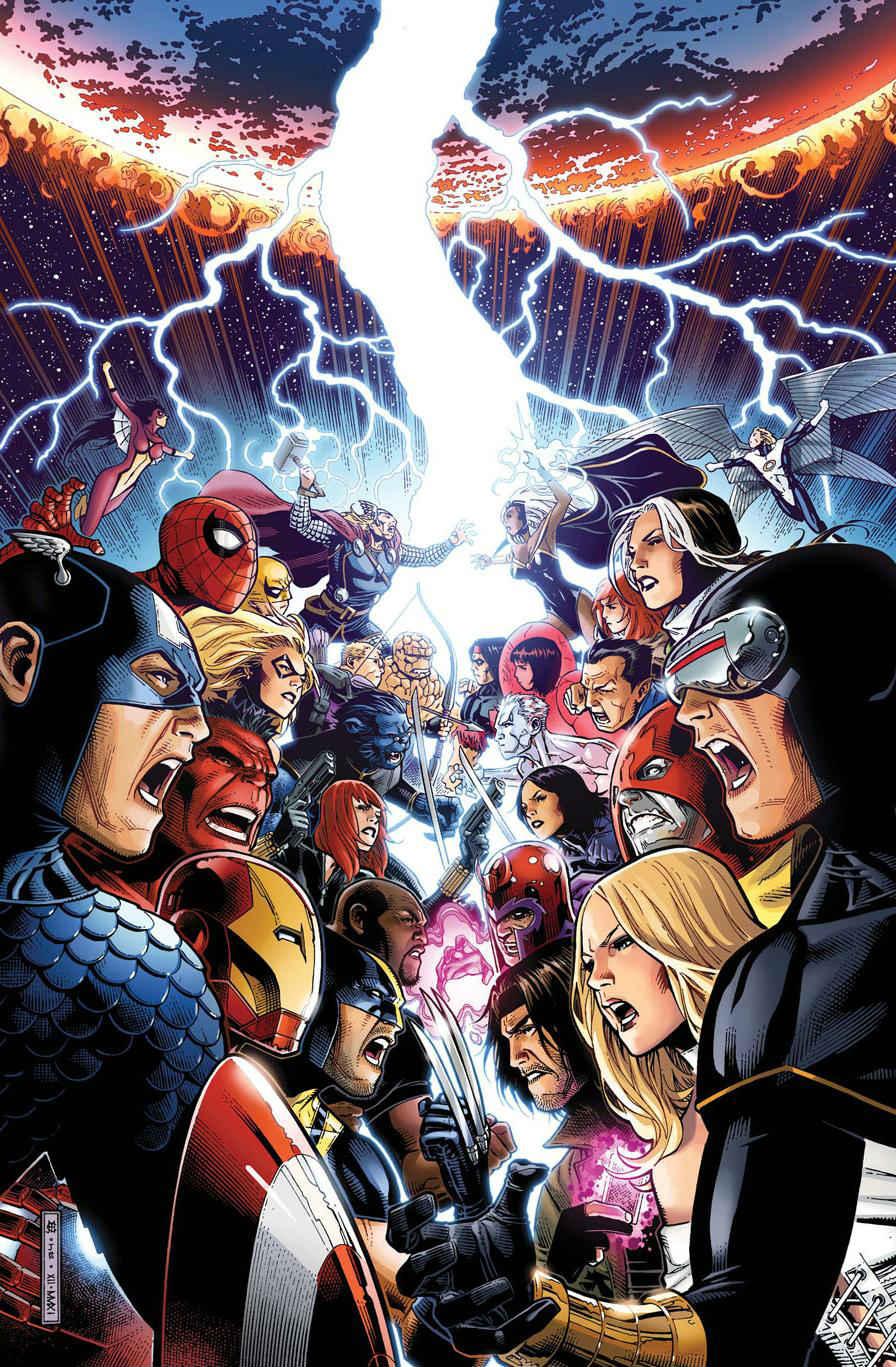Los Vengadores vs.  Los Patrulla-X