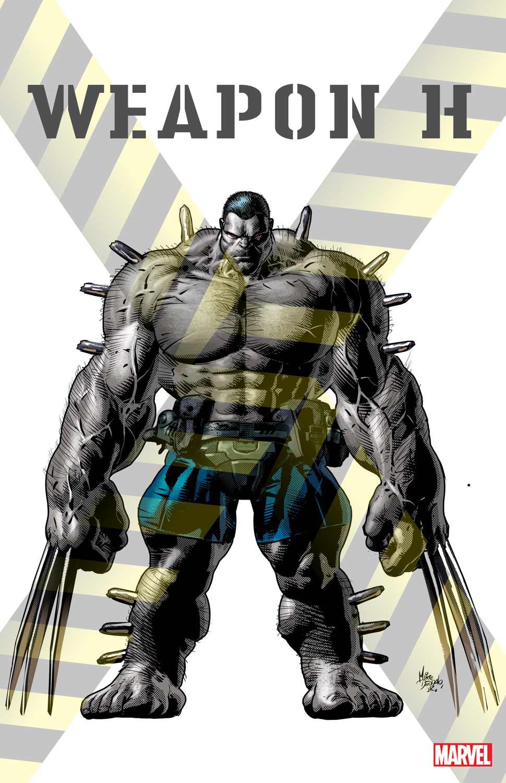 Weapons of Mutant Destruction - Primera imagen del Arma H, un híbrido entre Wolverine y Hulk