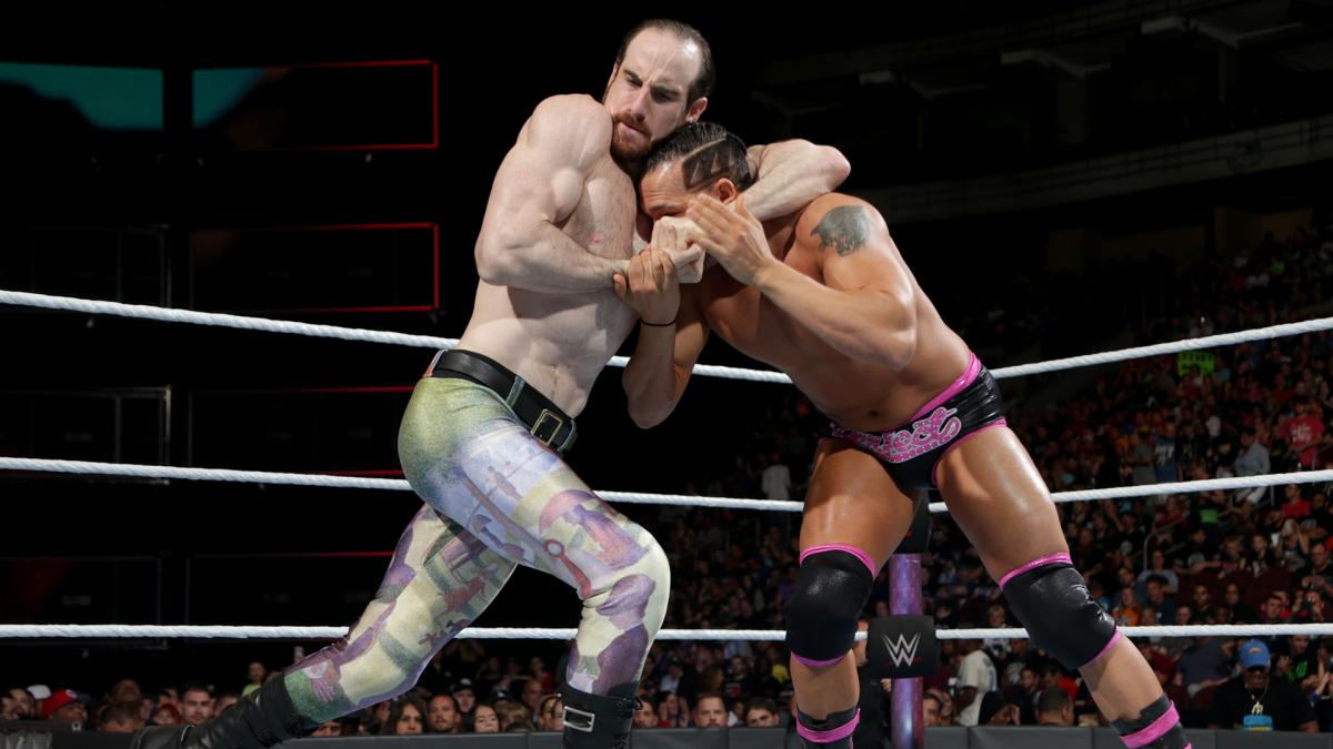 WWE Battleground 2017 - Aiden English vs Tye Dillinger