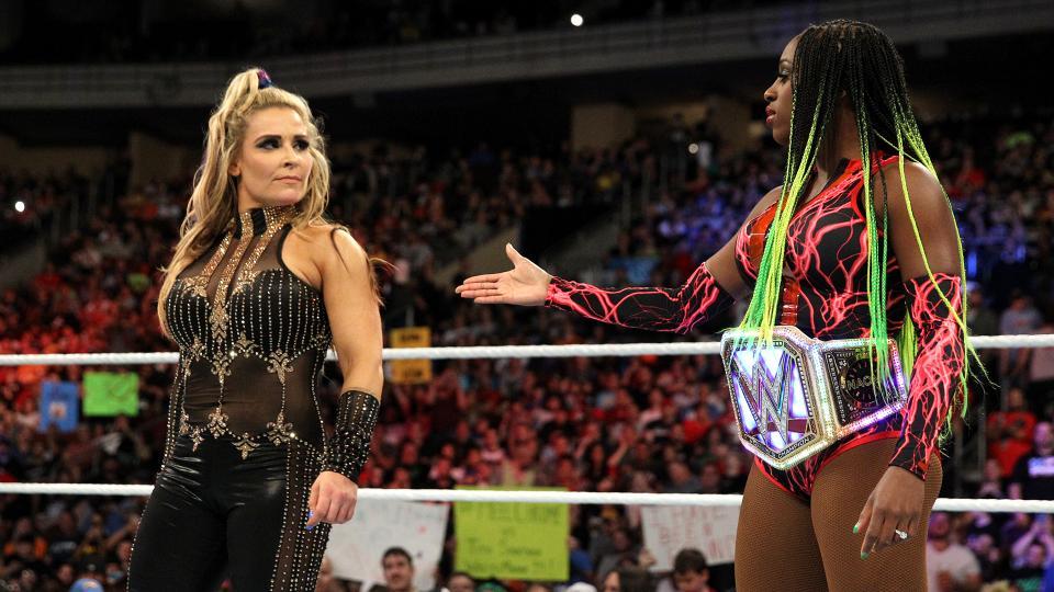 WWE Battleground 2017 - Natalya negó el saludo a Naomi