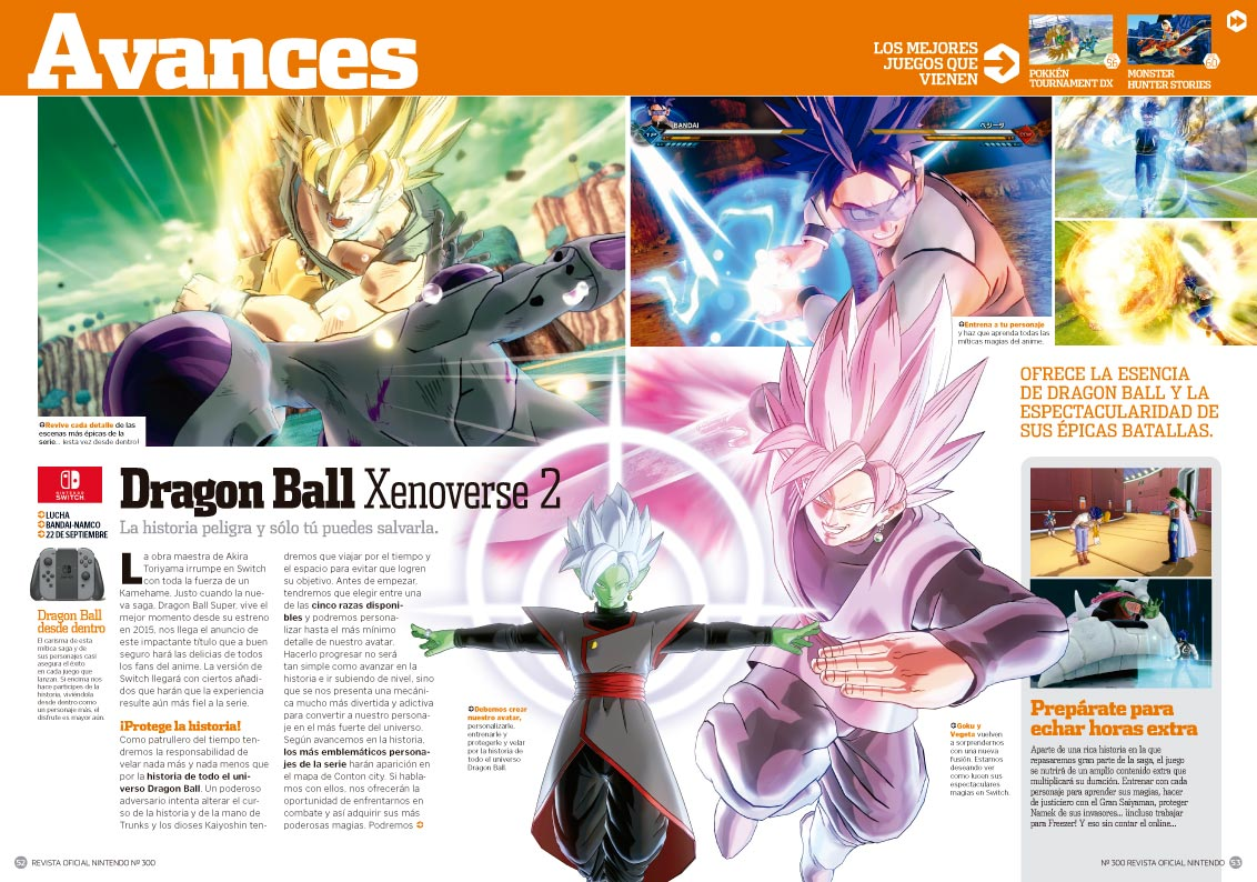 Avance Dragon Ball Xenoverse 2