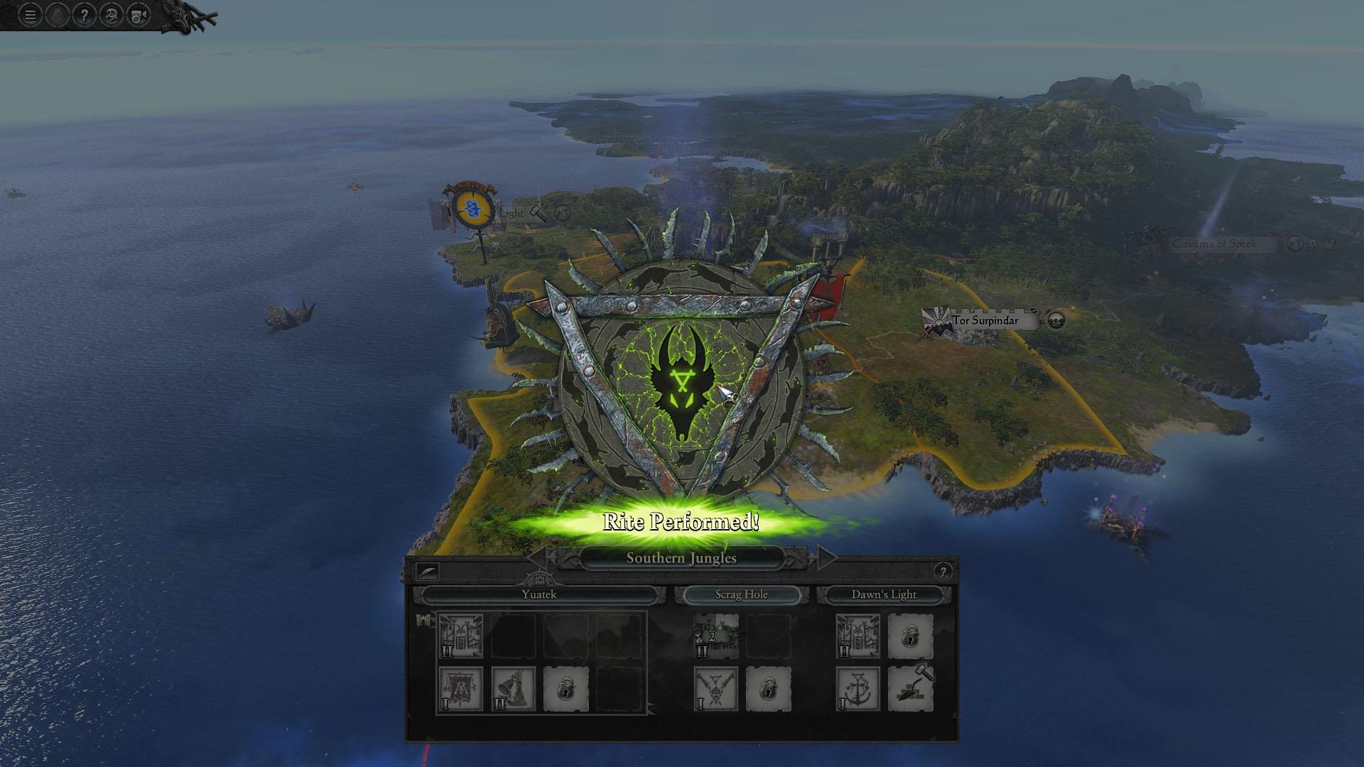 Avance de Total War Warhammer II