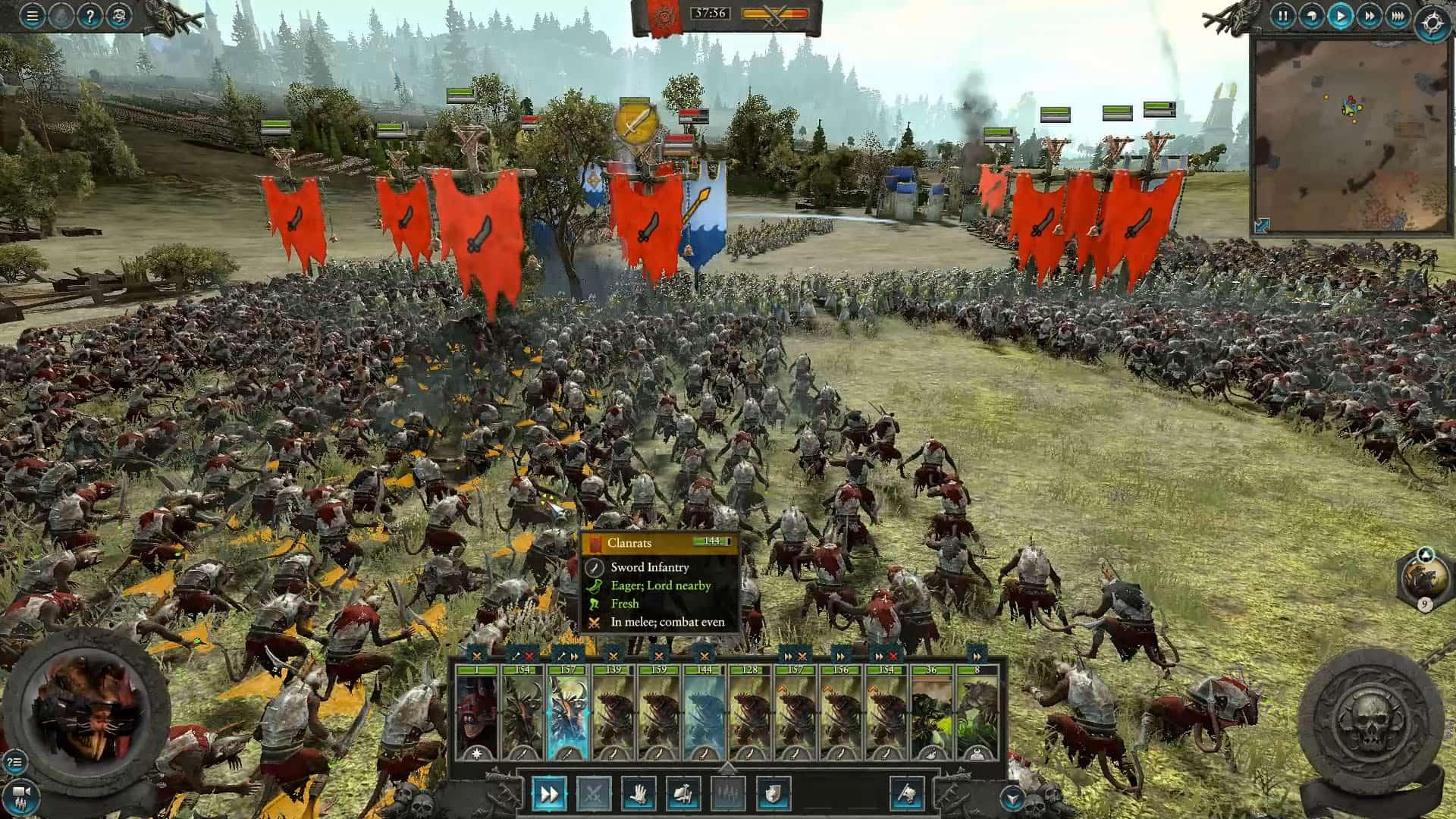 Avance de Total War Warhammer