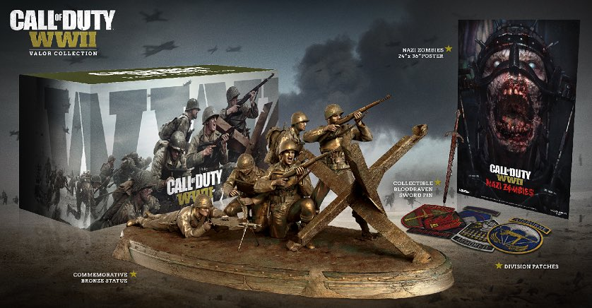 Call of Duty WWII The Valor Collection