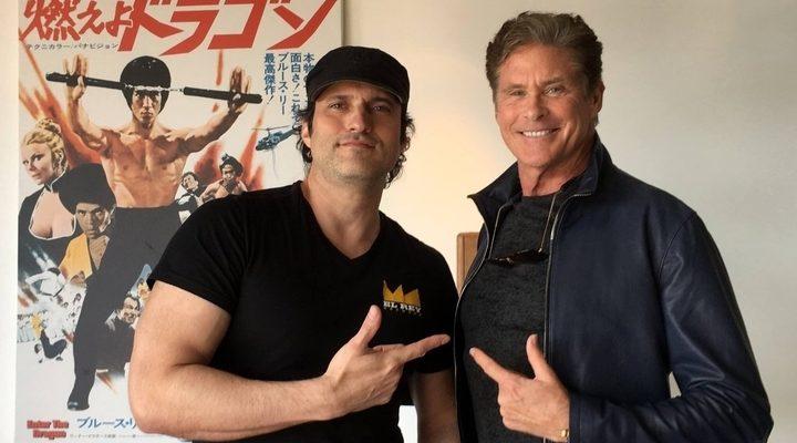 David Hasselhoff y Robert Rodríguez