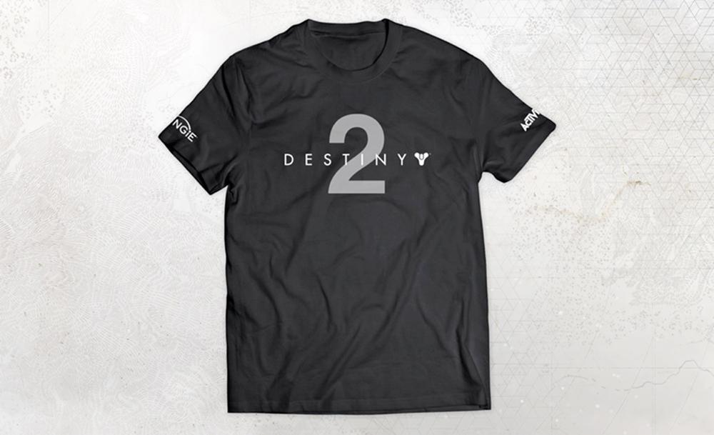 Destiny 2 camiseta oficial