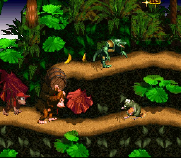 Donkey Kong Country SNES