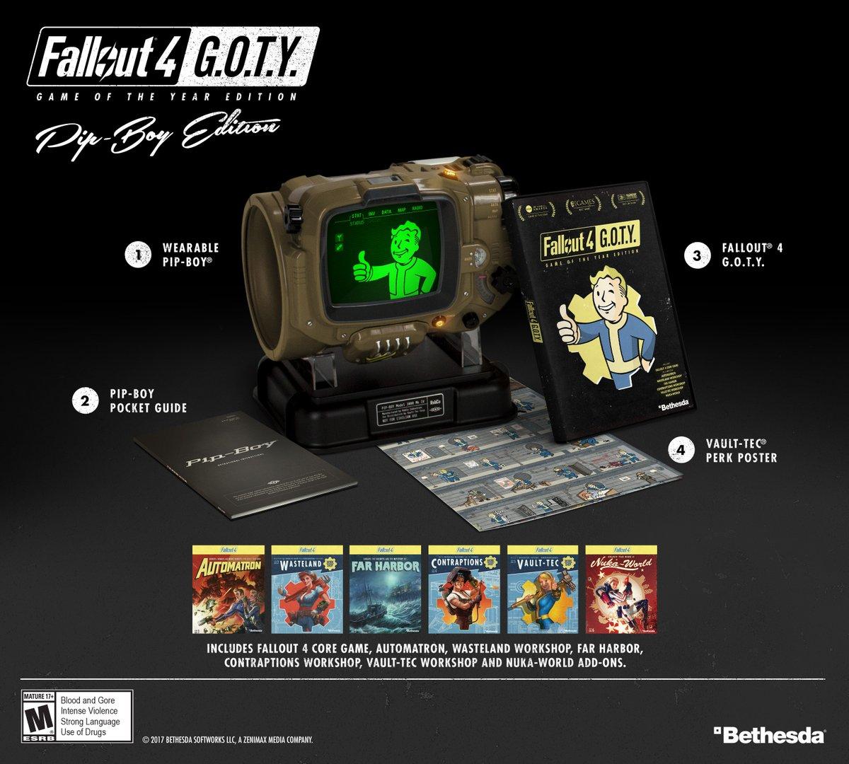 Fallout 4 GOTY Pip-boy